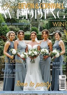 Issue 22 of Your Devon and Cornwall Wedding magazine