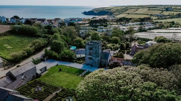 Pengersick Castle, Penzance, Cornwall