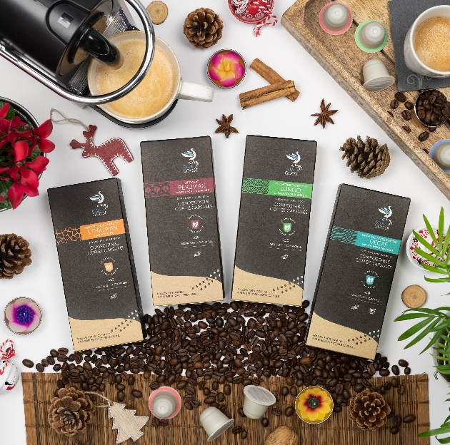 Devon-based Blue Goose Coffee launch eco-friendly, sustainable gifts