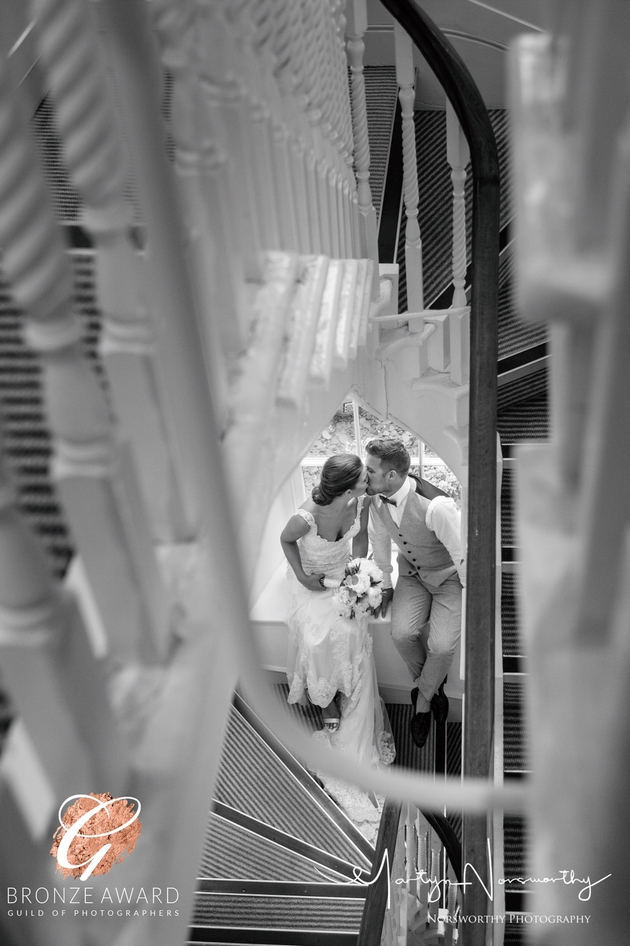 Congratulations to Devon-based wedding photographer Martyn Norsworthy on another award win