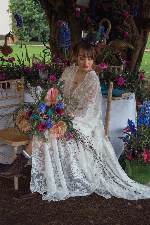 Talented local wedding suppliers collaborate on this Alice in Wonderland shoot: Image 1