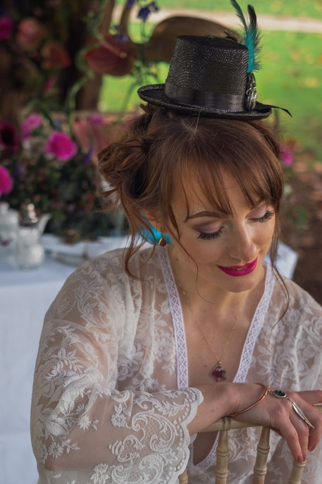 Talented local wedding suppliers collaborate on this Alice in Wonderland shoot: Image 2