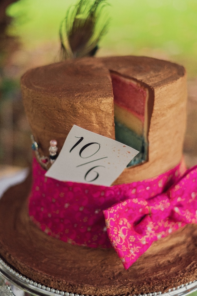 Talented local wedding suppliers collaborate on this Alice in Wonderland shoot: Image 4