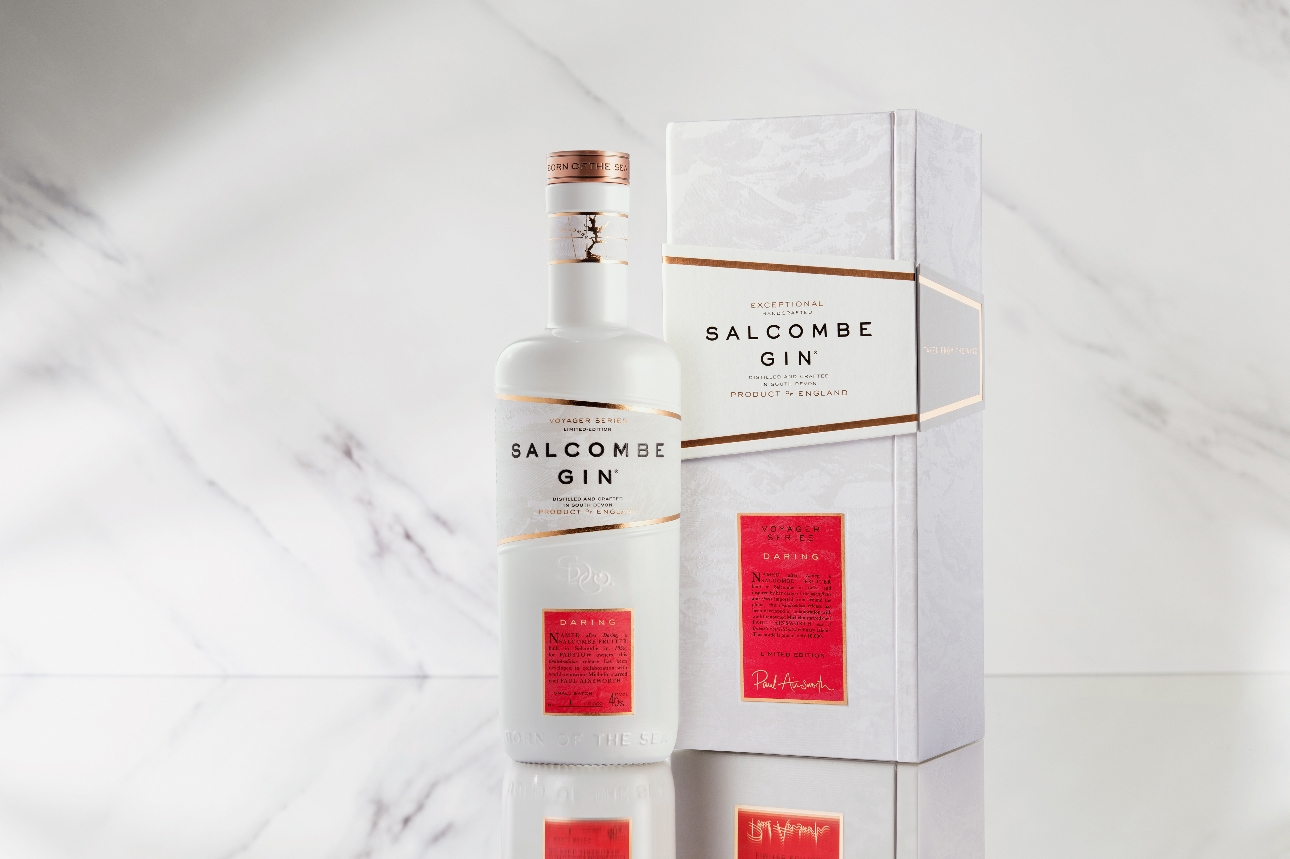 Michelin-starred Chef Paul Ainsworth collaborates with Salcombe Gin