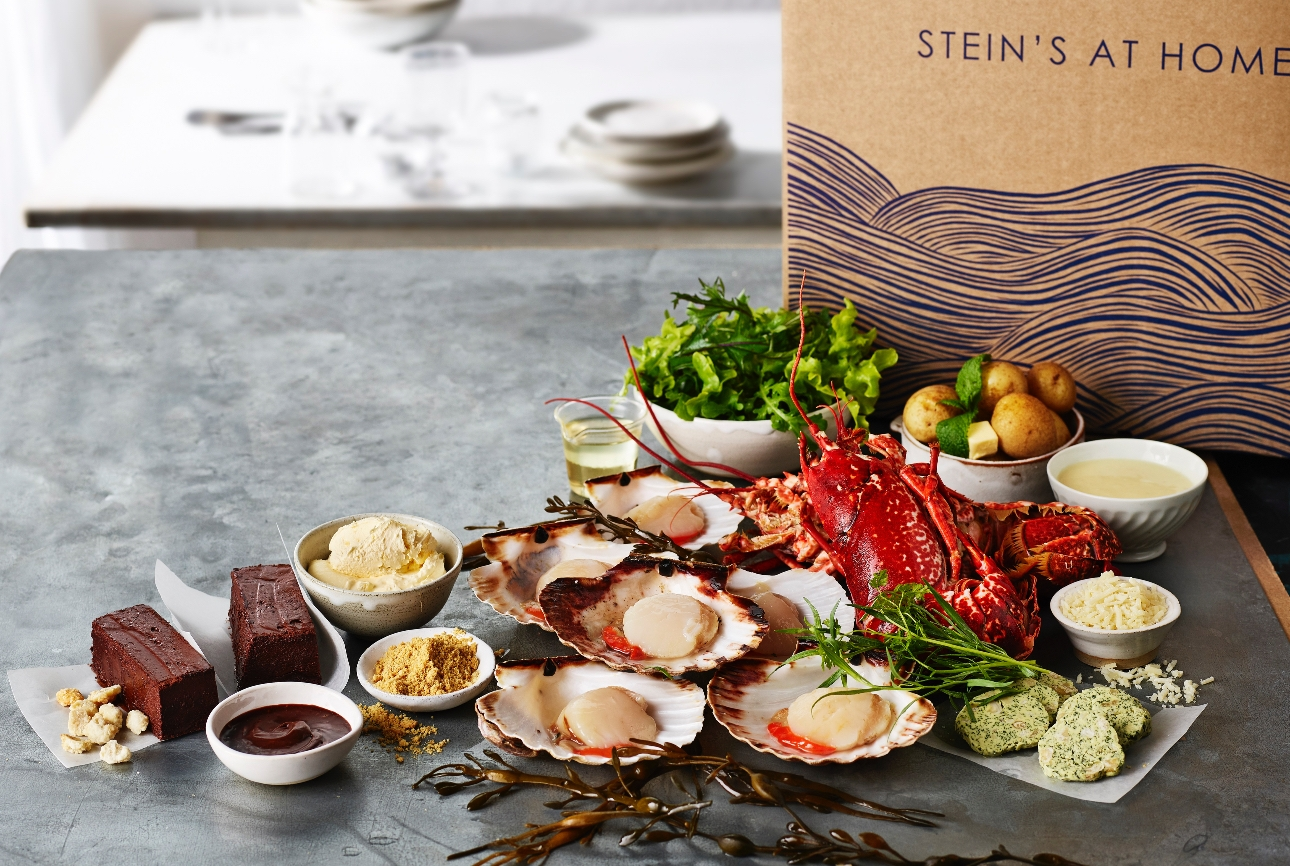 Enjoy Stein's at Home boxes