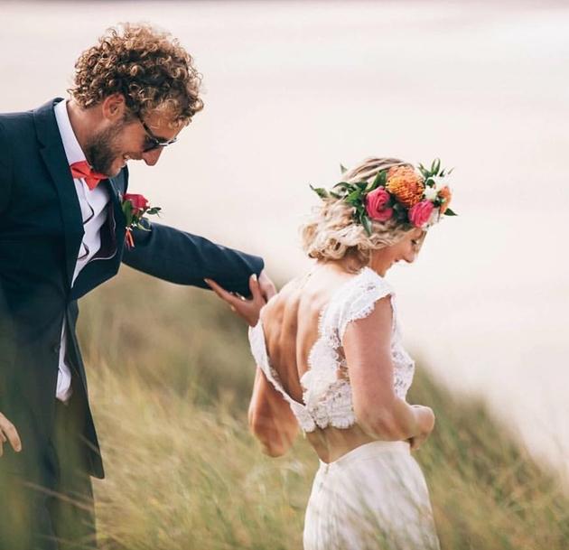 Cornwall-based independent celebrant Sabine Smith talks pets at weddings