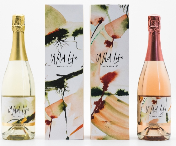 Cornish sparkling wine Wild Life Botanicals offers ultra-low alcoholic beverages