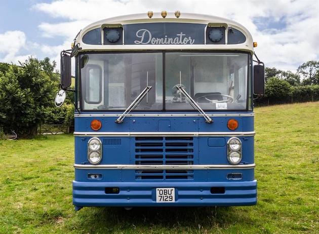 Enjoy a minimoon aboard the Bluebird Bus in South Devon this summer