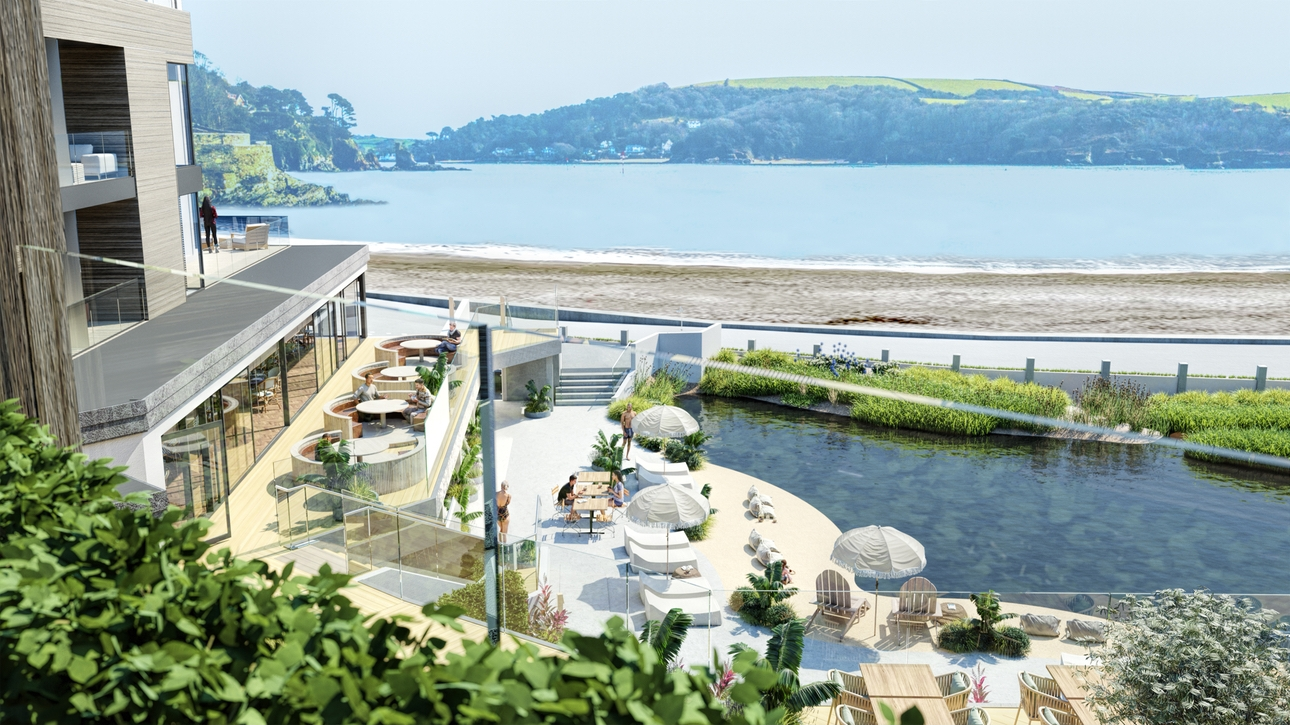 New Harbour Beach Club & Hotel opening in Salcombe for summer staycations