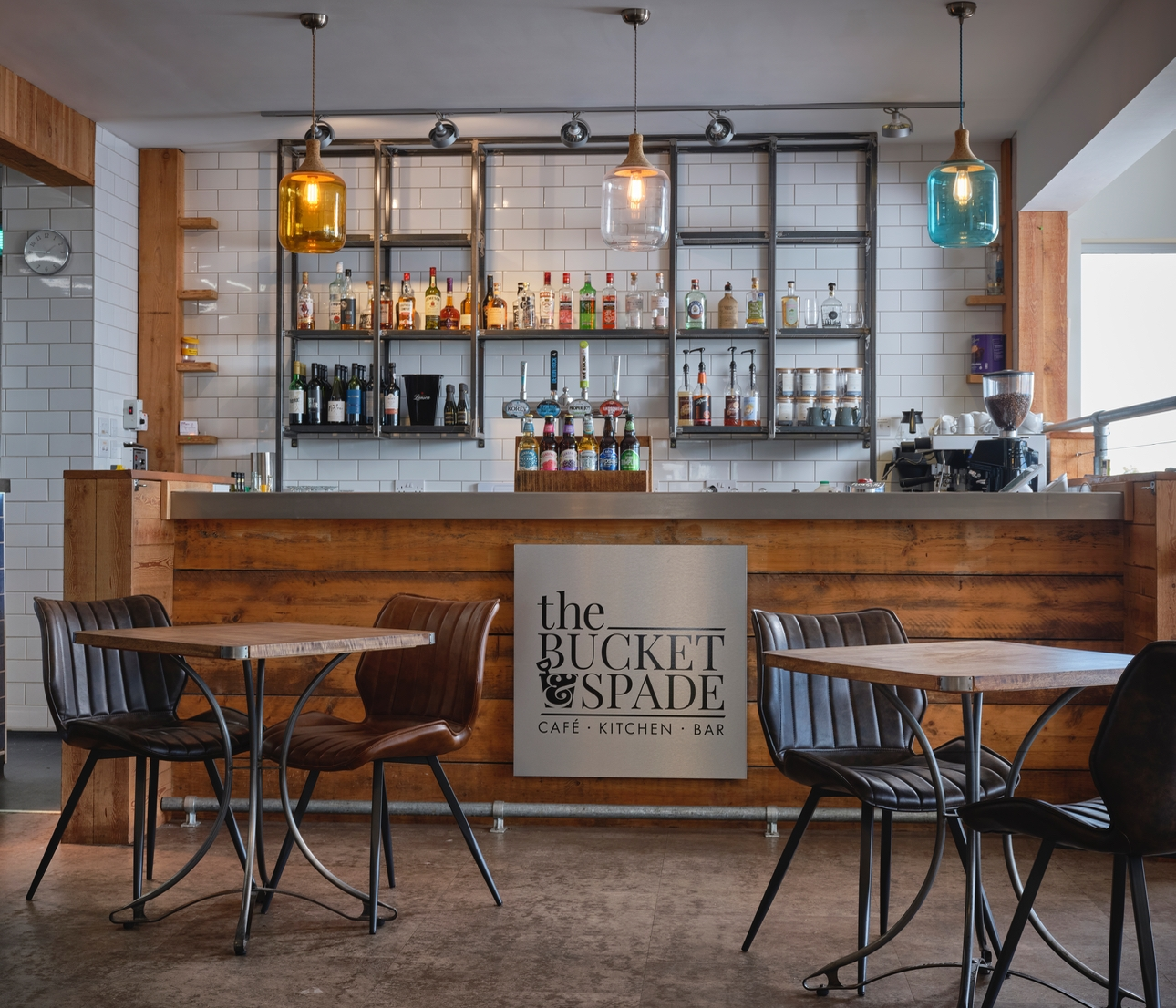 Autumn staycation, the bucket & spade cafe, locally sourced produce, Devon