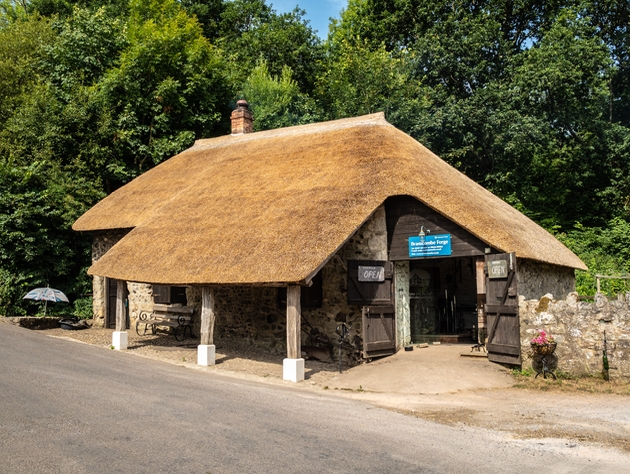 RHS Chelsea win for artisan garden inspired by Branscombe Forge in Devon